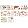 Equine Laminated Chart Bundle (Set of 10 Posters)
