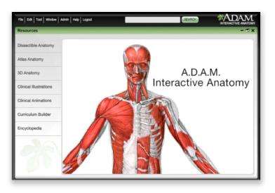 Adam student atlas of anatomy
